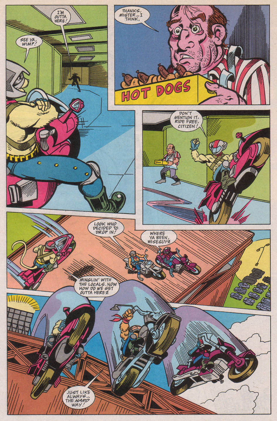 Biker Mice from Mars 1 Page 12
