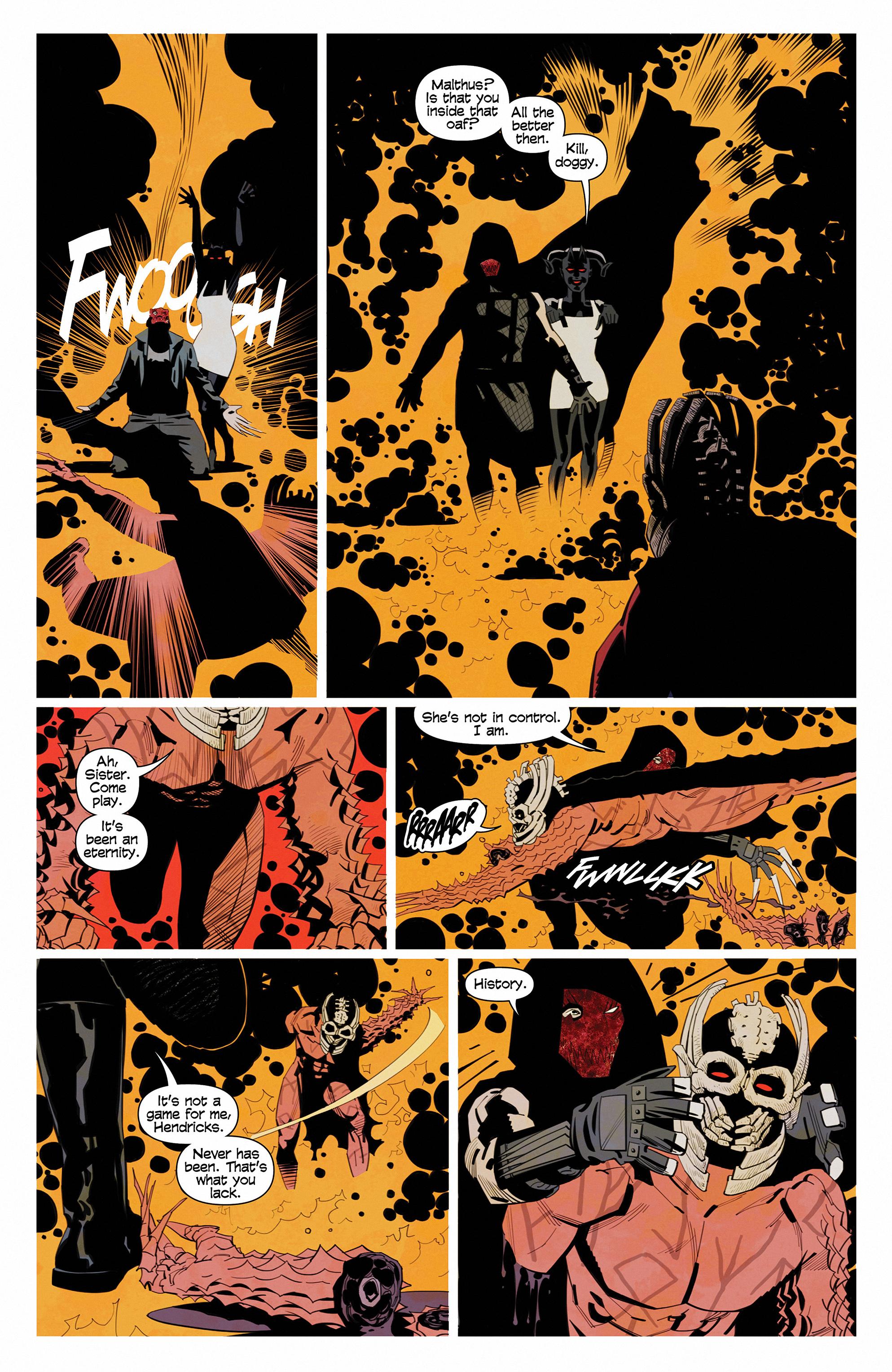 Read online Demonic comic -  Issue #6 - 16