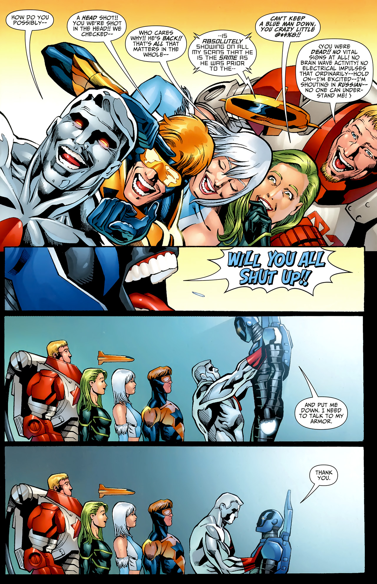 Read online Justice League: Generation Lost comic -  Issue #22 - 5