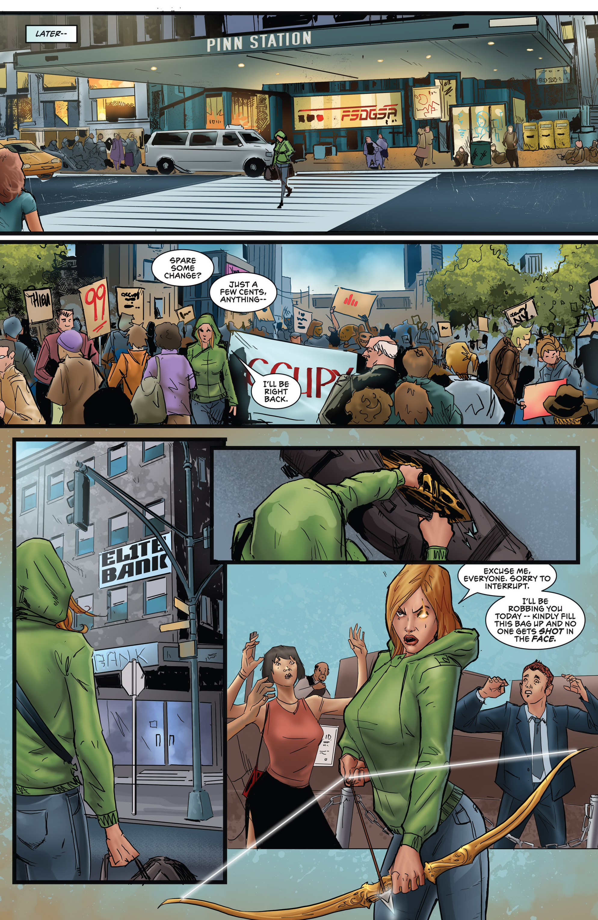 Read online Grimm Fairy Tales presents Robyn Hood (2012) comic -  Issue #5 - 37