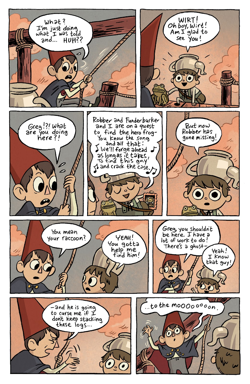 Over the Garden Wall (2016) Issue #4 #4 - English 9