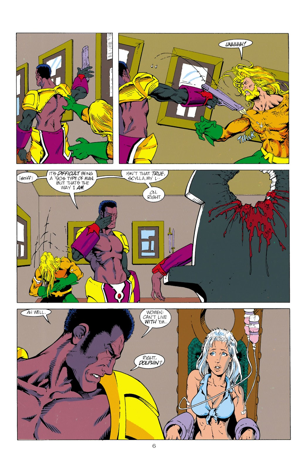 Aquaman (1994) Issue #2 #8 - English 7