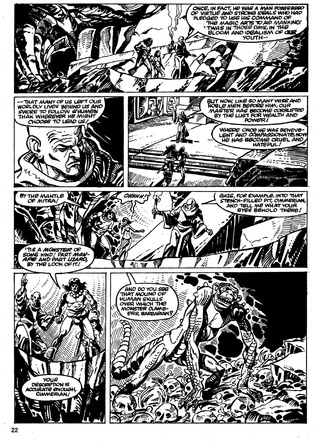 The Savage Sword Of Conan Issue #86 #87 - English 22