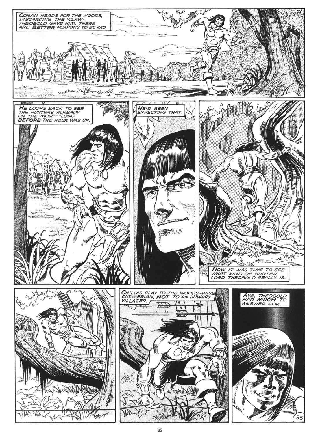 The Savage Sword Of Conan Issue #171 #172 - English 37