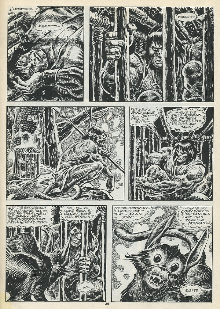 The Savage Sword Of Conan Issue #193 #194 - English 31