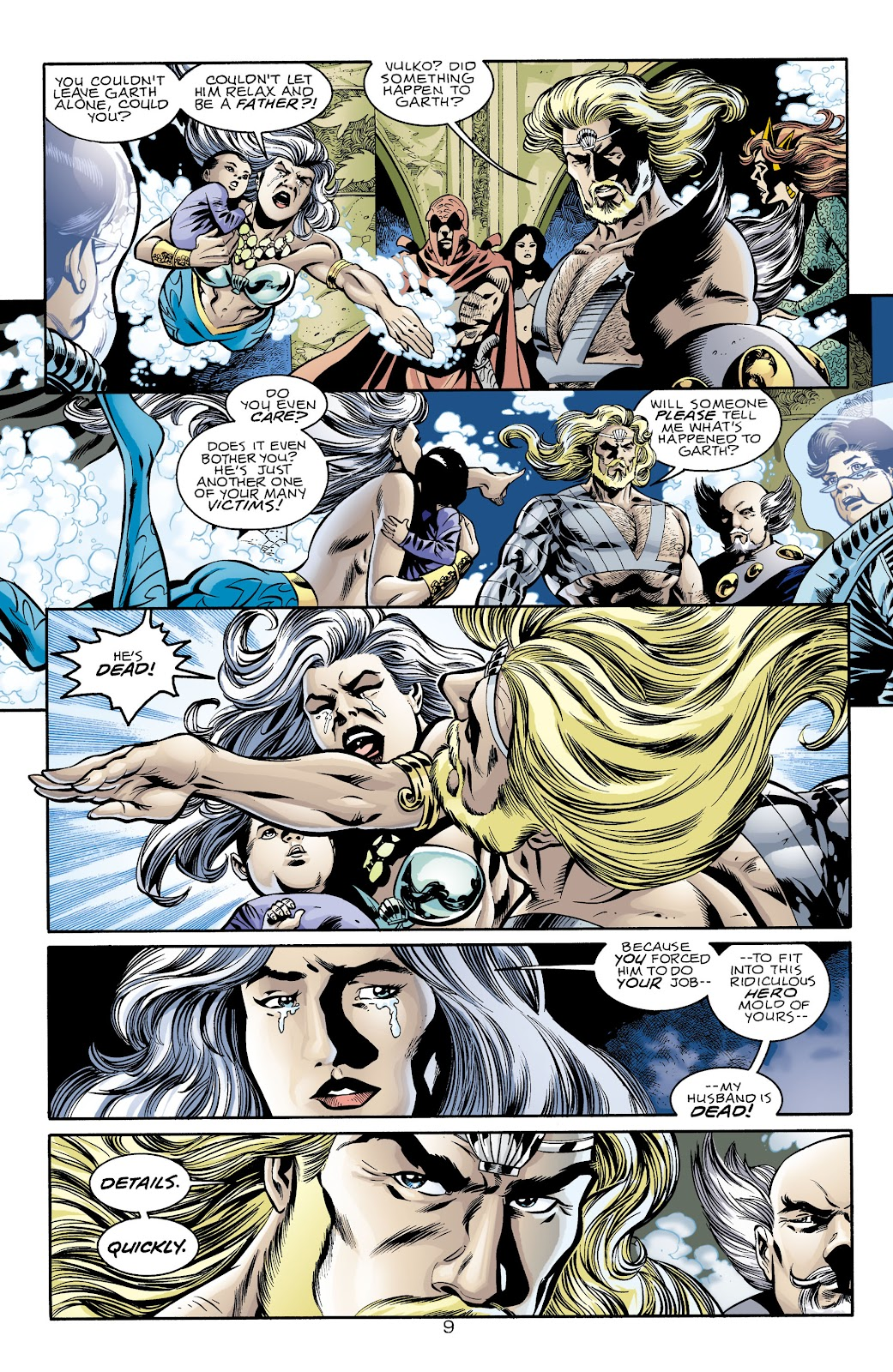 Aquaman (1994) Issue #74 #80 - English 9