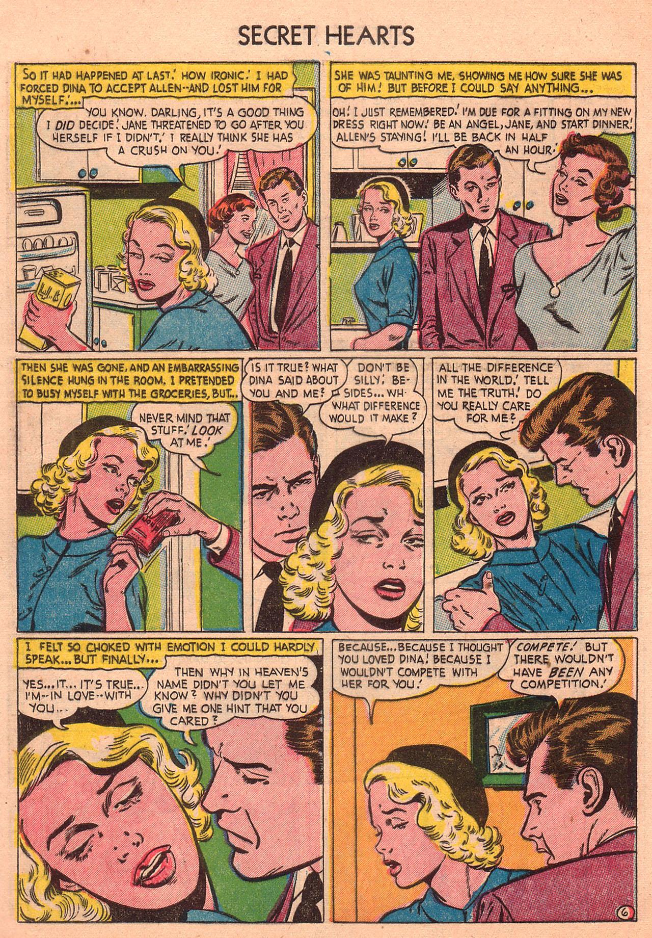 Read online Secret Hearts comic -  Issue #23 - 8