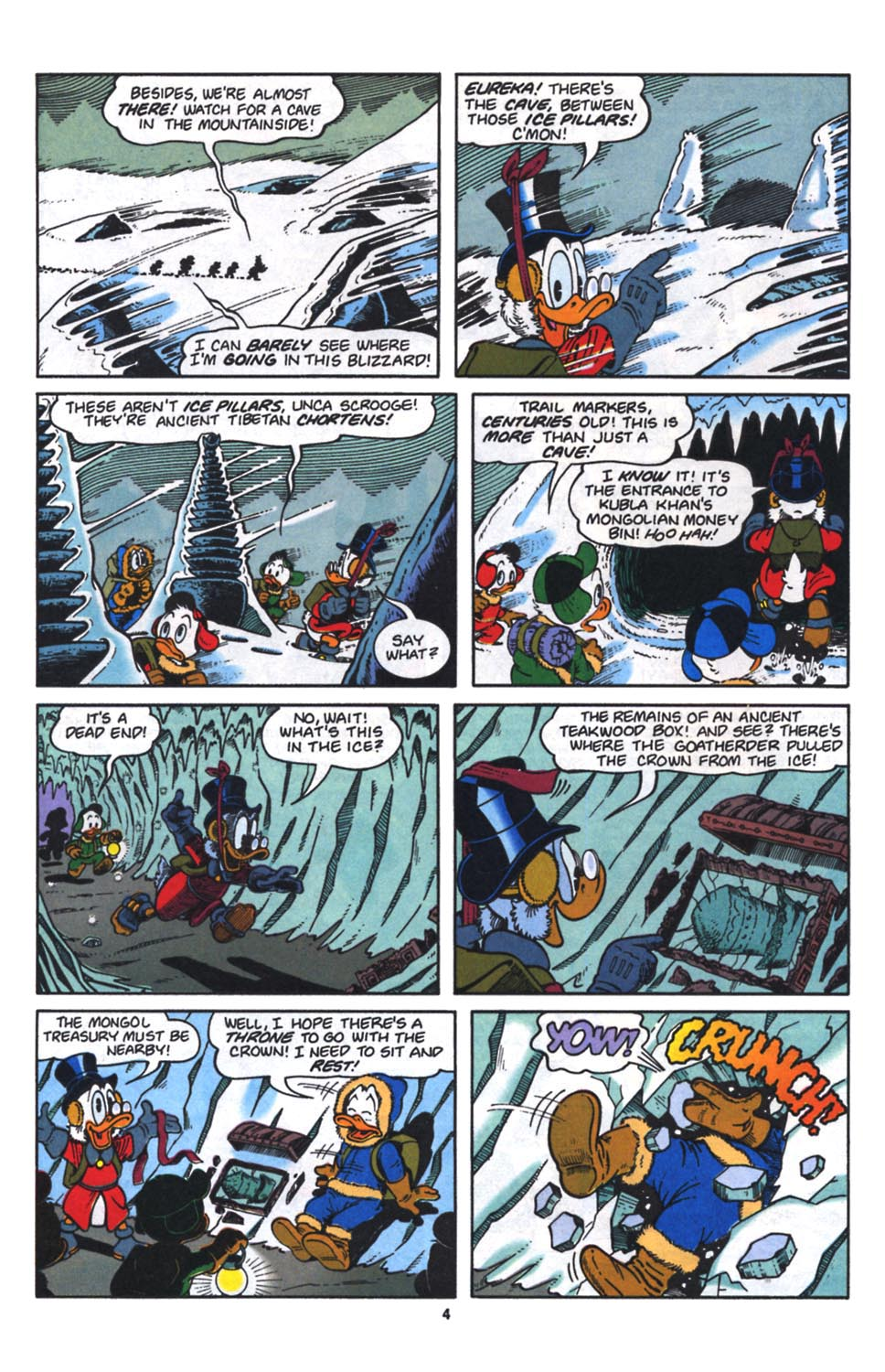 Uncle Scrooge (1953) Issue #261 #261 - English 5