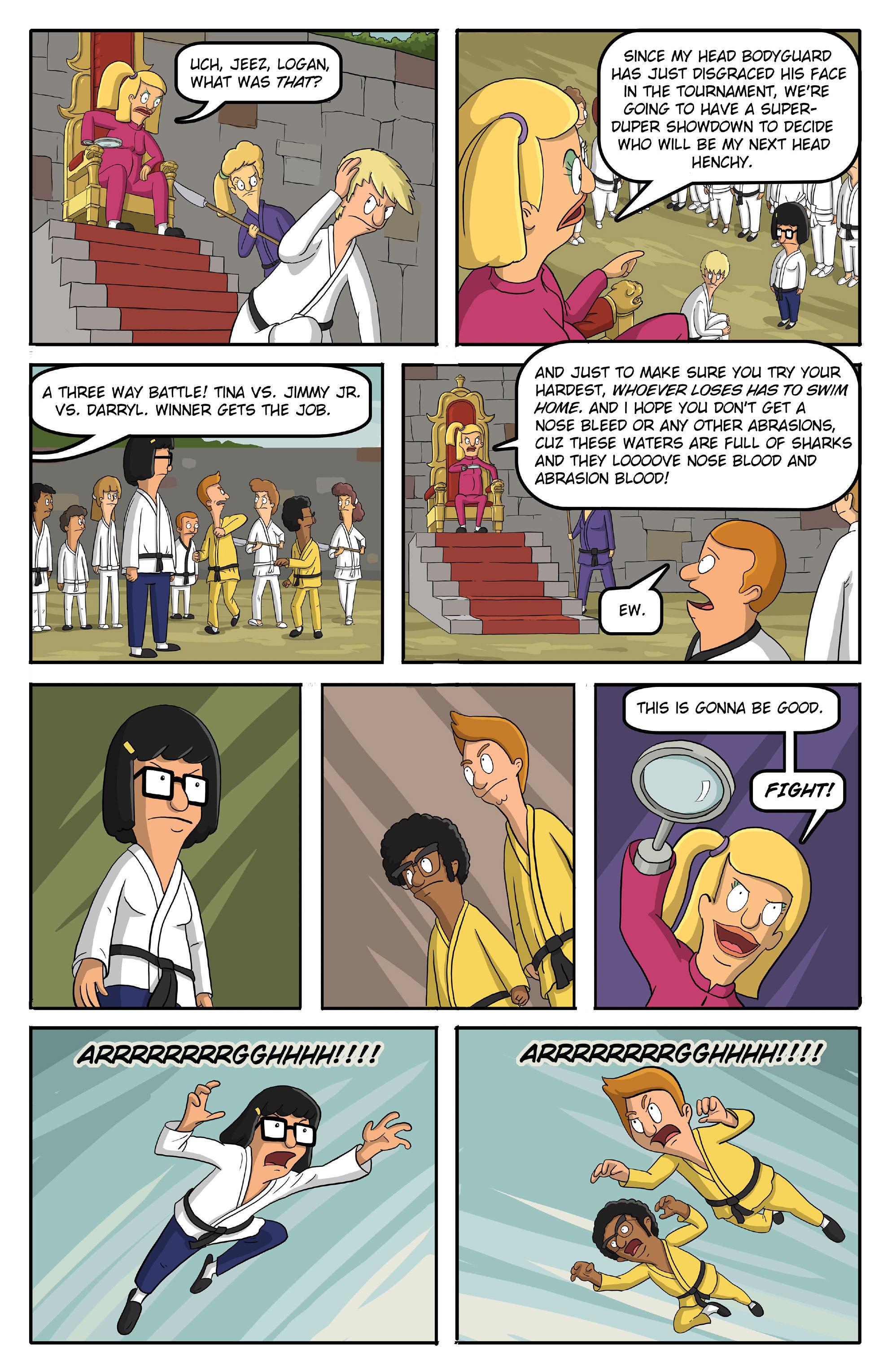 Read online Bob's Burgers (2015) comic -  Issue #13 - 18