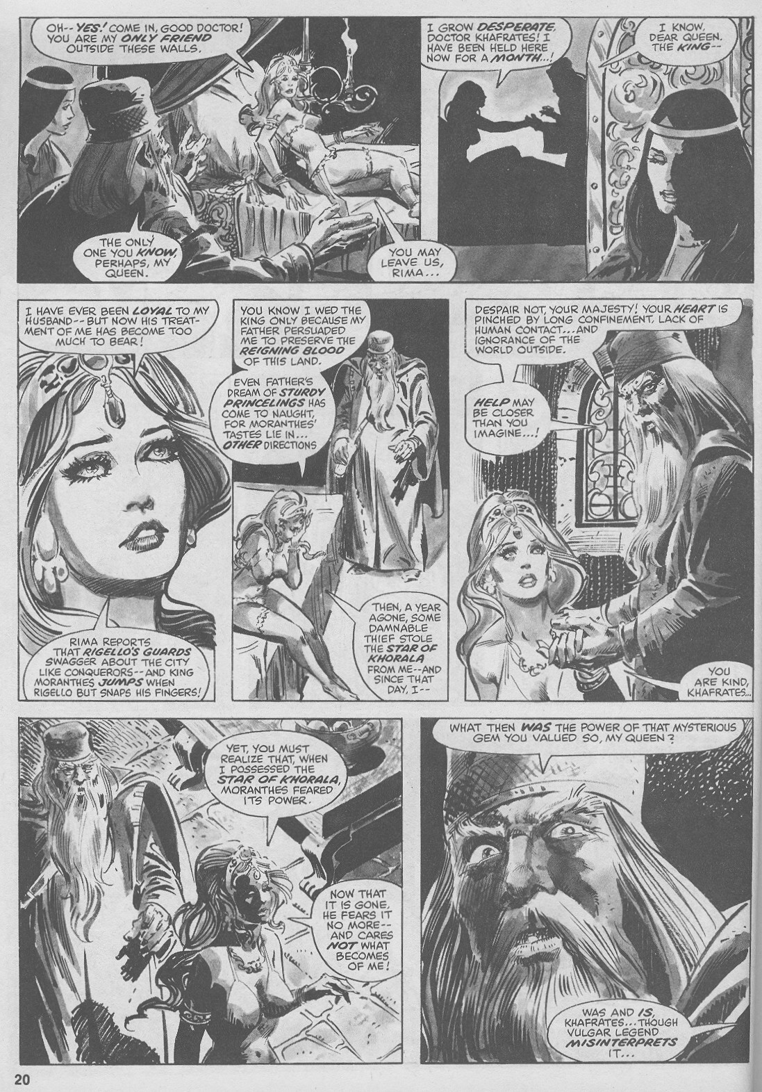 The Savage Sword Of Conan Issue #44 #45 - English 20