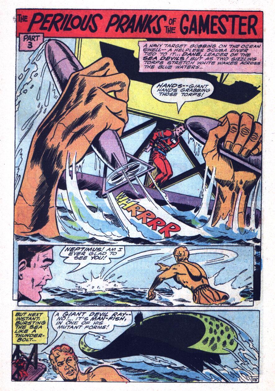 Read online Sea Devils comic -  Issue #26 - 29