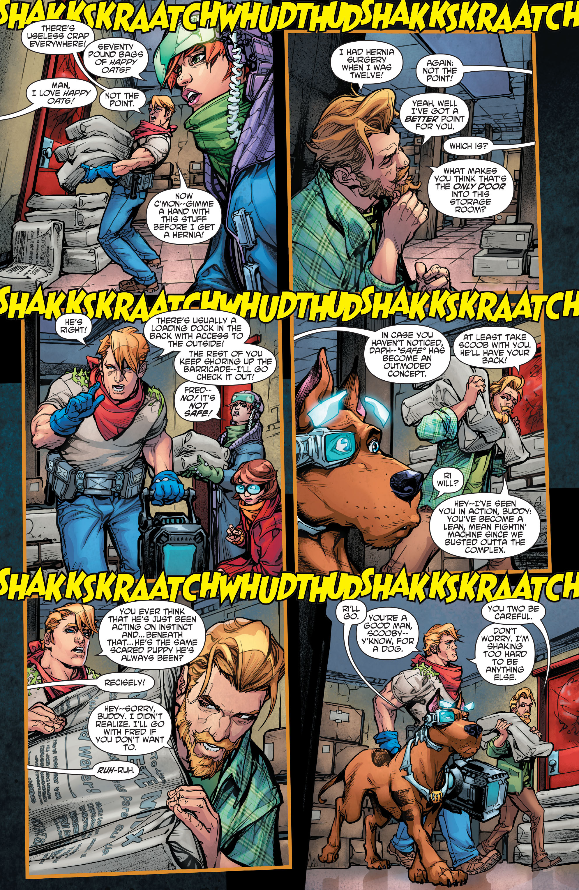Read online Scooby Apocalypse comic -  Issue #5 - 11