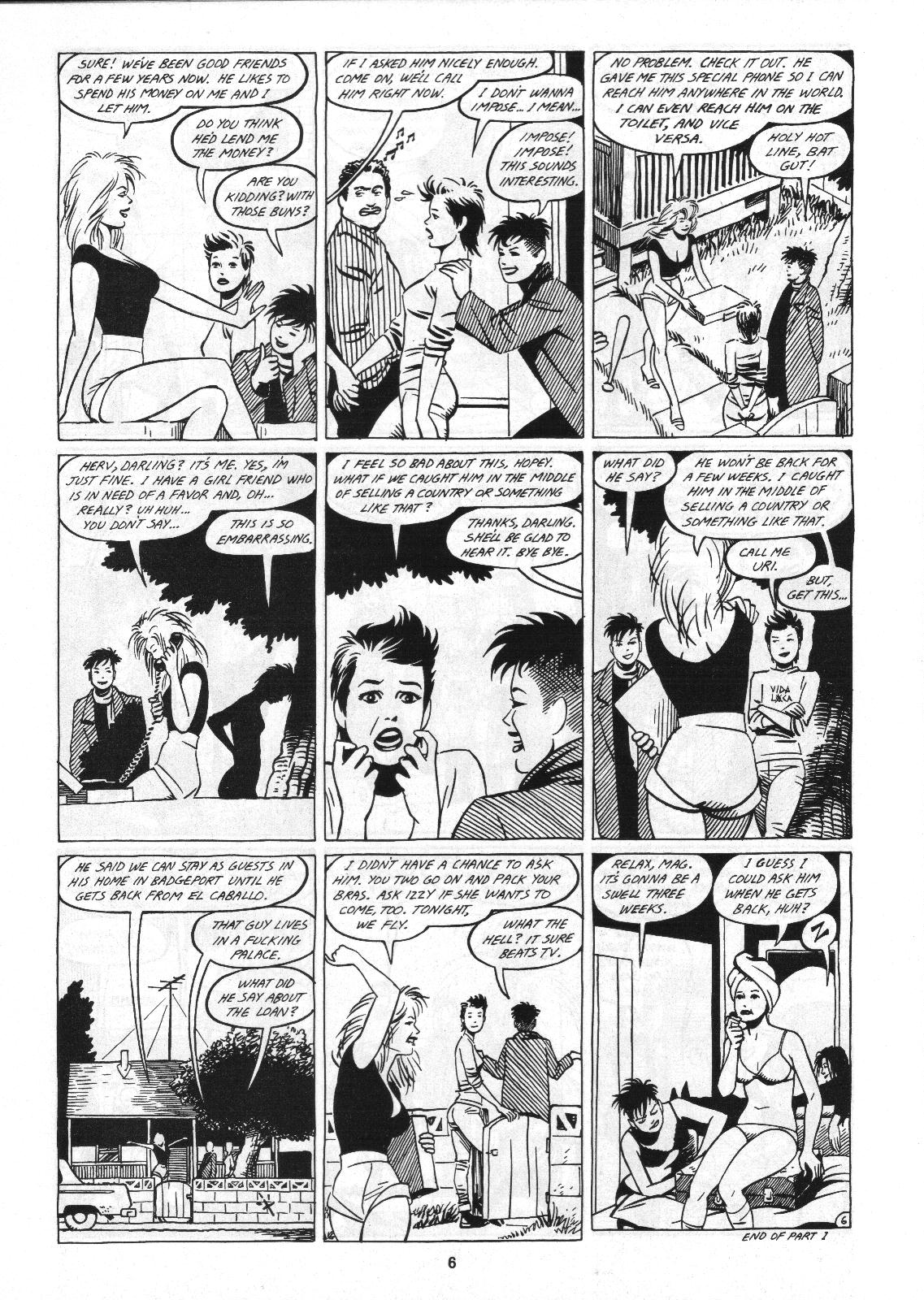 Love and Rockets (1982) Issue #4 #3 - English 8