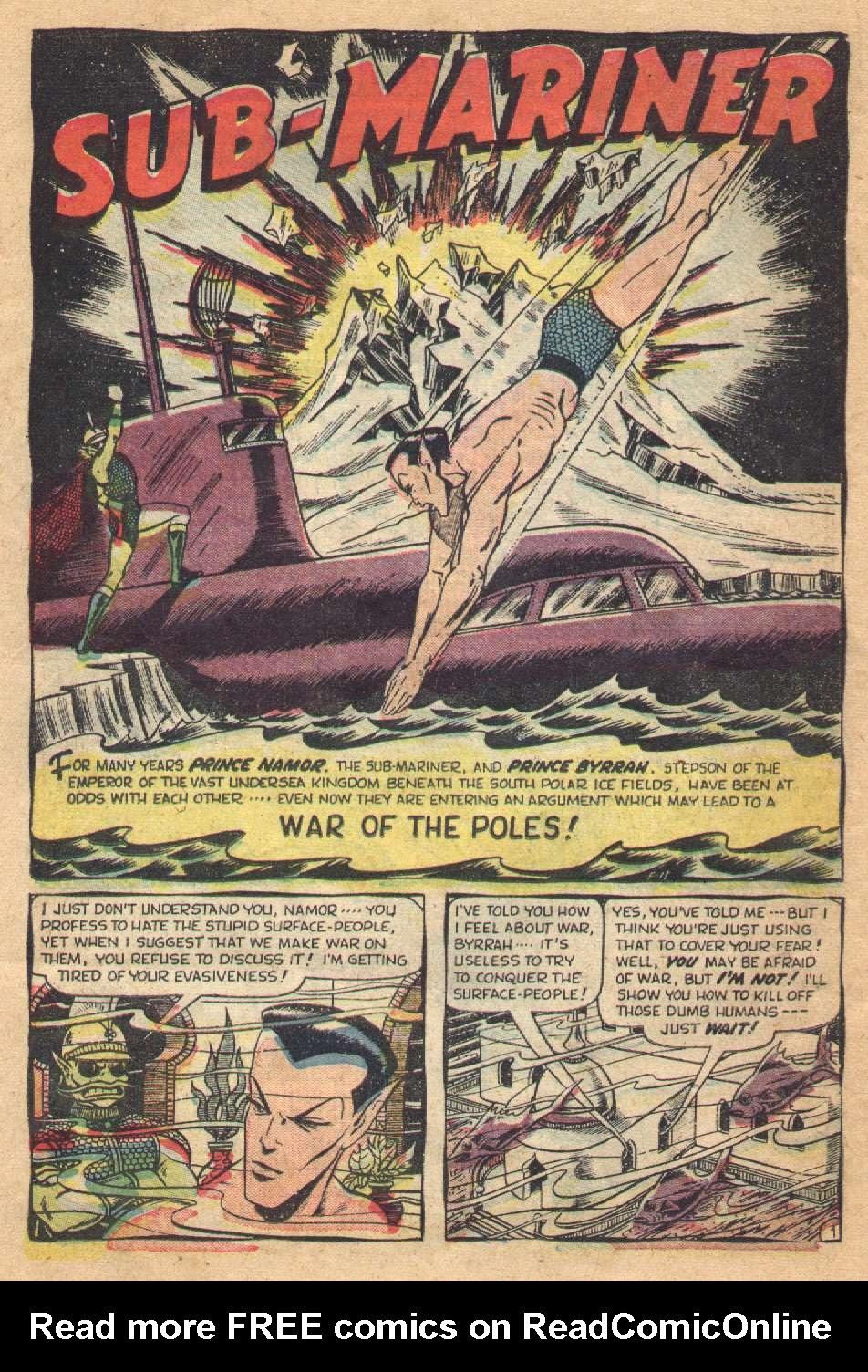 Sub-Mariner Comics #36 #36 - English 26