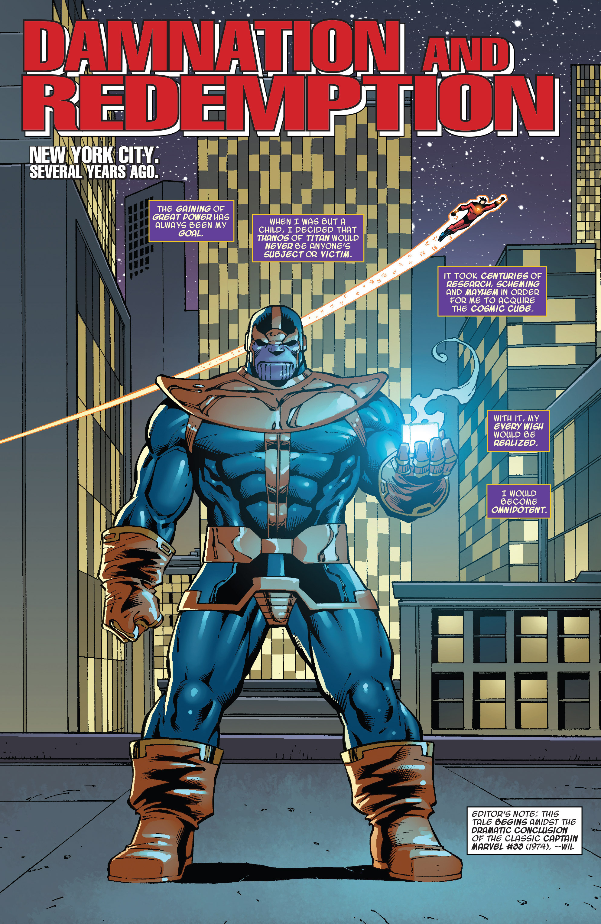 Read online Thanos Annual comic -  Issue # Annual - 3