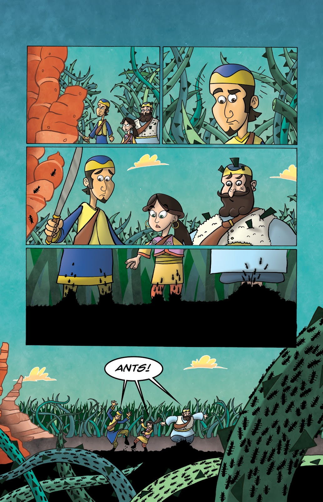 1001 Nights Issue #10 Page 18
