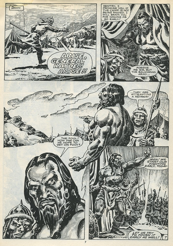 The Savage Sword Of Conan Issue #173 #174 - English 9