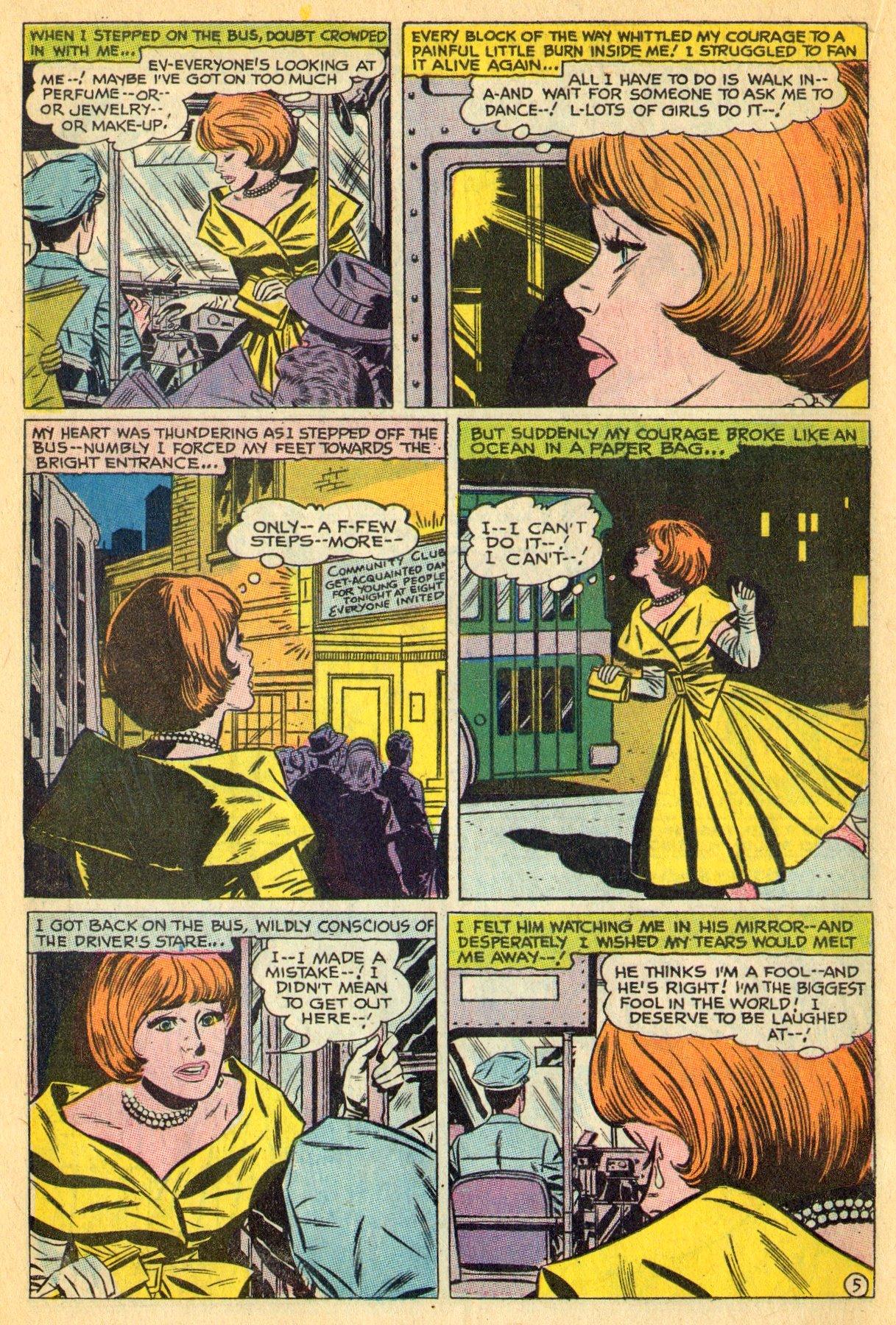 Read online Secret Hearts comic -  Issue #134 - 18