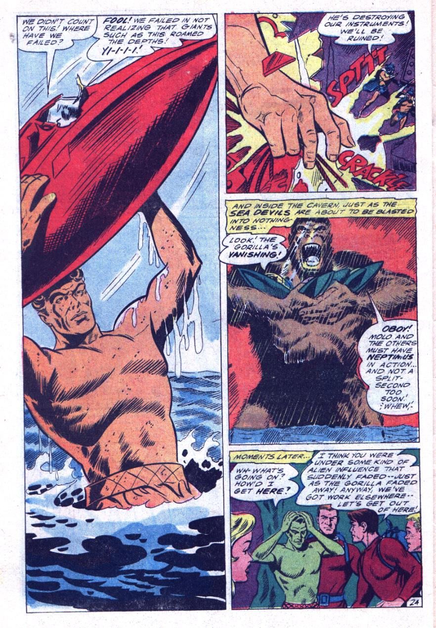 Read online Sea Devils comic -  Issue #30 - 33