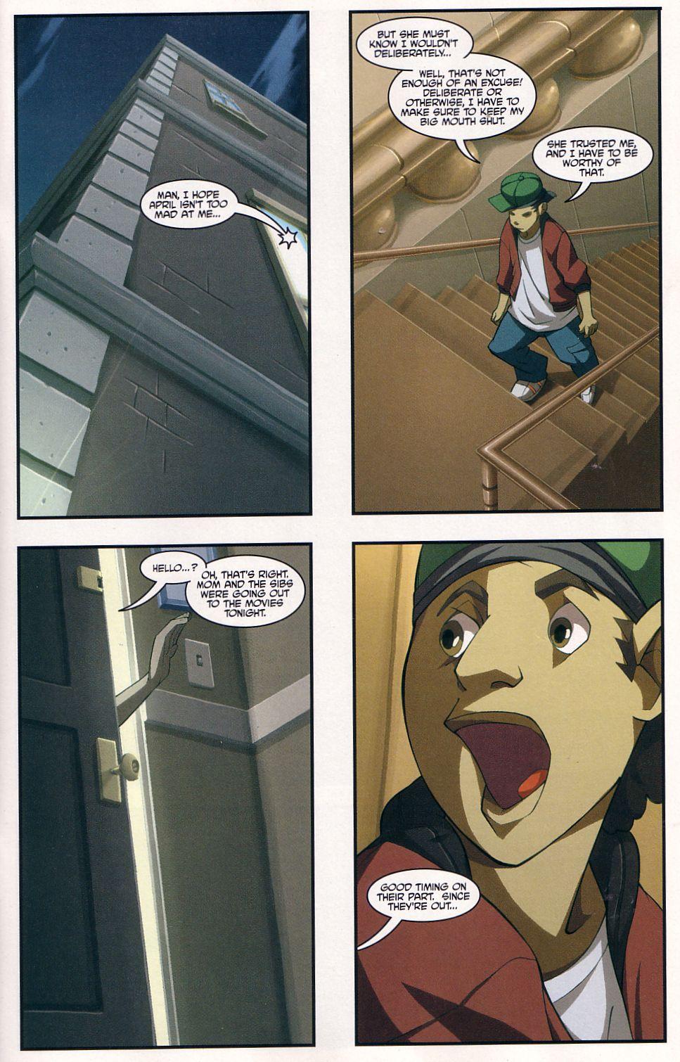 Teenage Mutant Ninja Turtles (2003) chap 7 pic 11