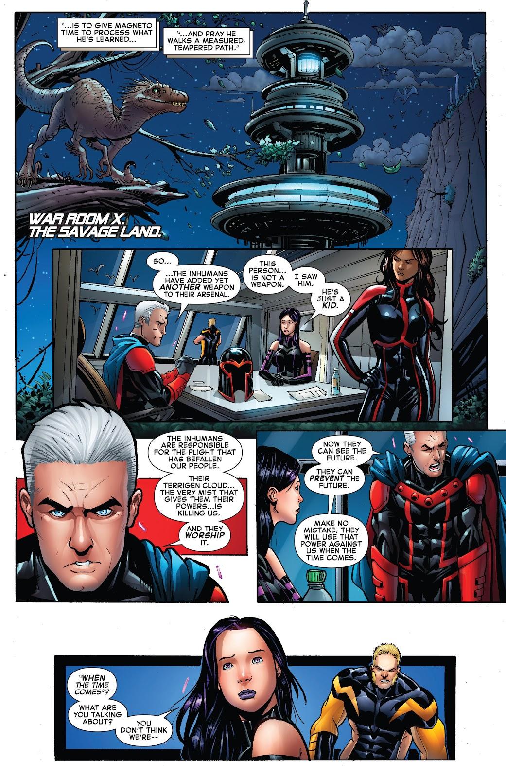Civil War II: X-Men Issue #1 #1 - English 25