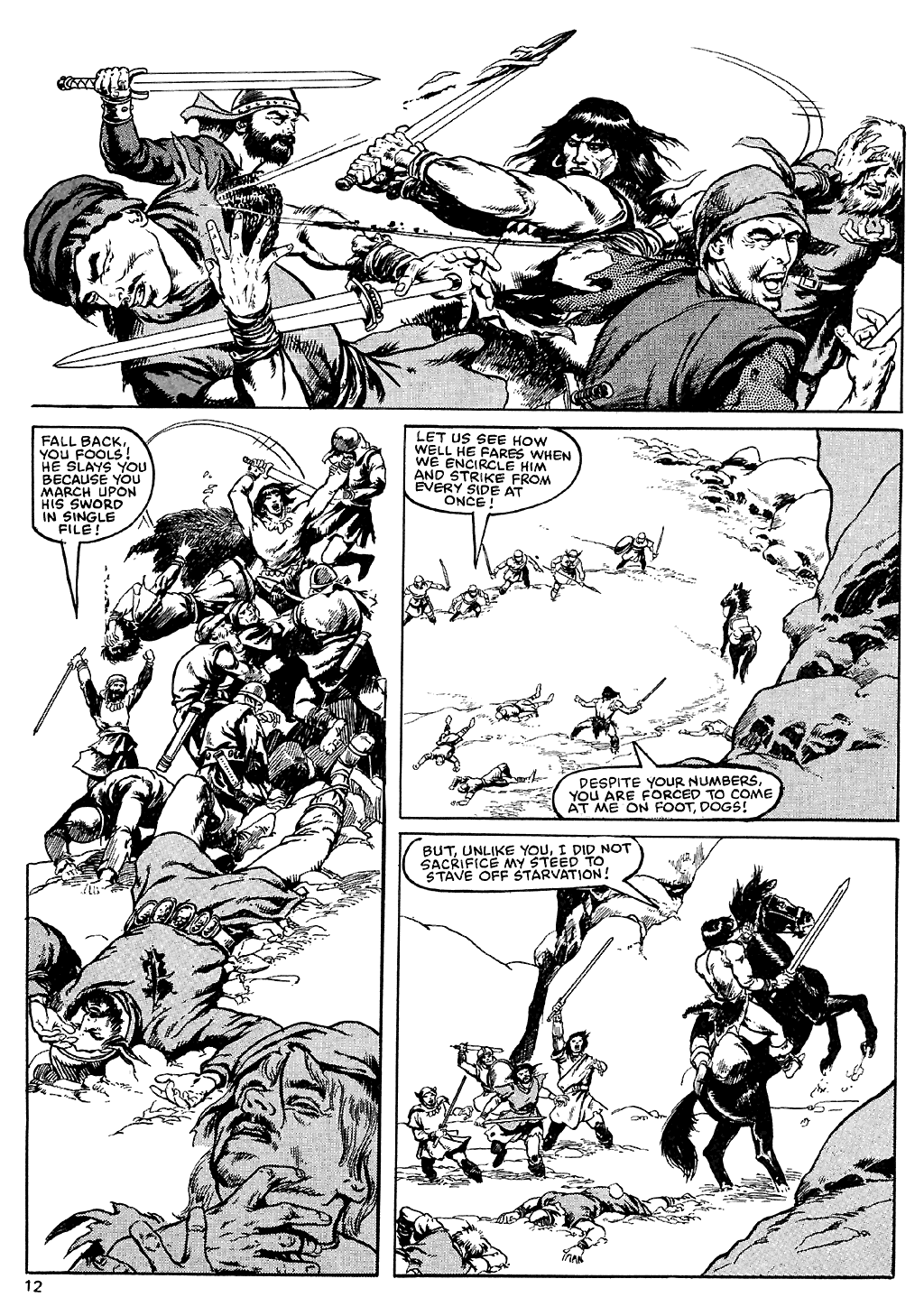 The Savage Sword Of Conan Issue #110 #111 - English 13
