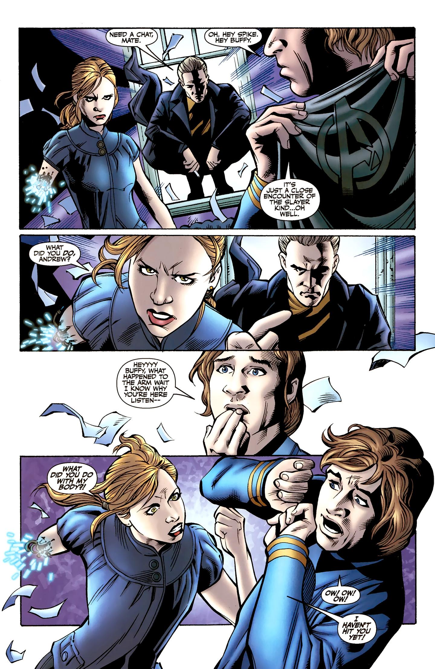 Read online Buffy the Vampire Slayer Season Nine comic -  Issue #8 - 6