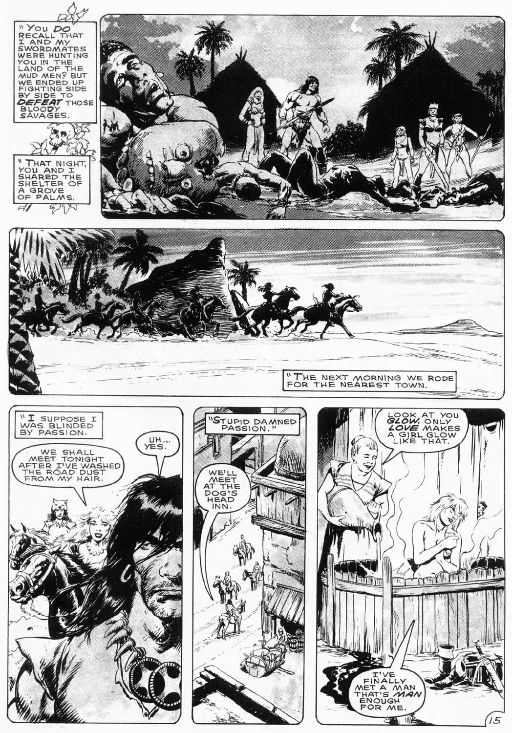 The Savage Sword Of Conan Issue #154 #155 - English 18