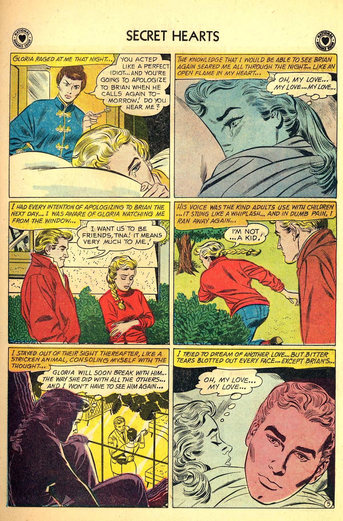 Read online Secret Hearts comic -  Issue #64 - 31