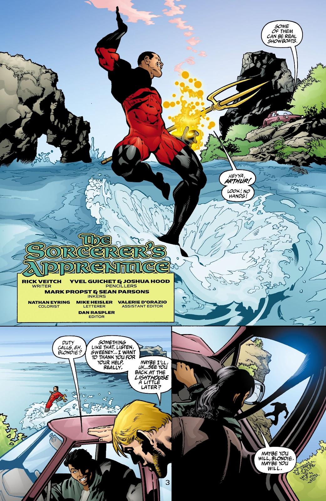 Aquaman (2003) Issue #4 #4 - English 4