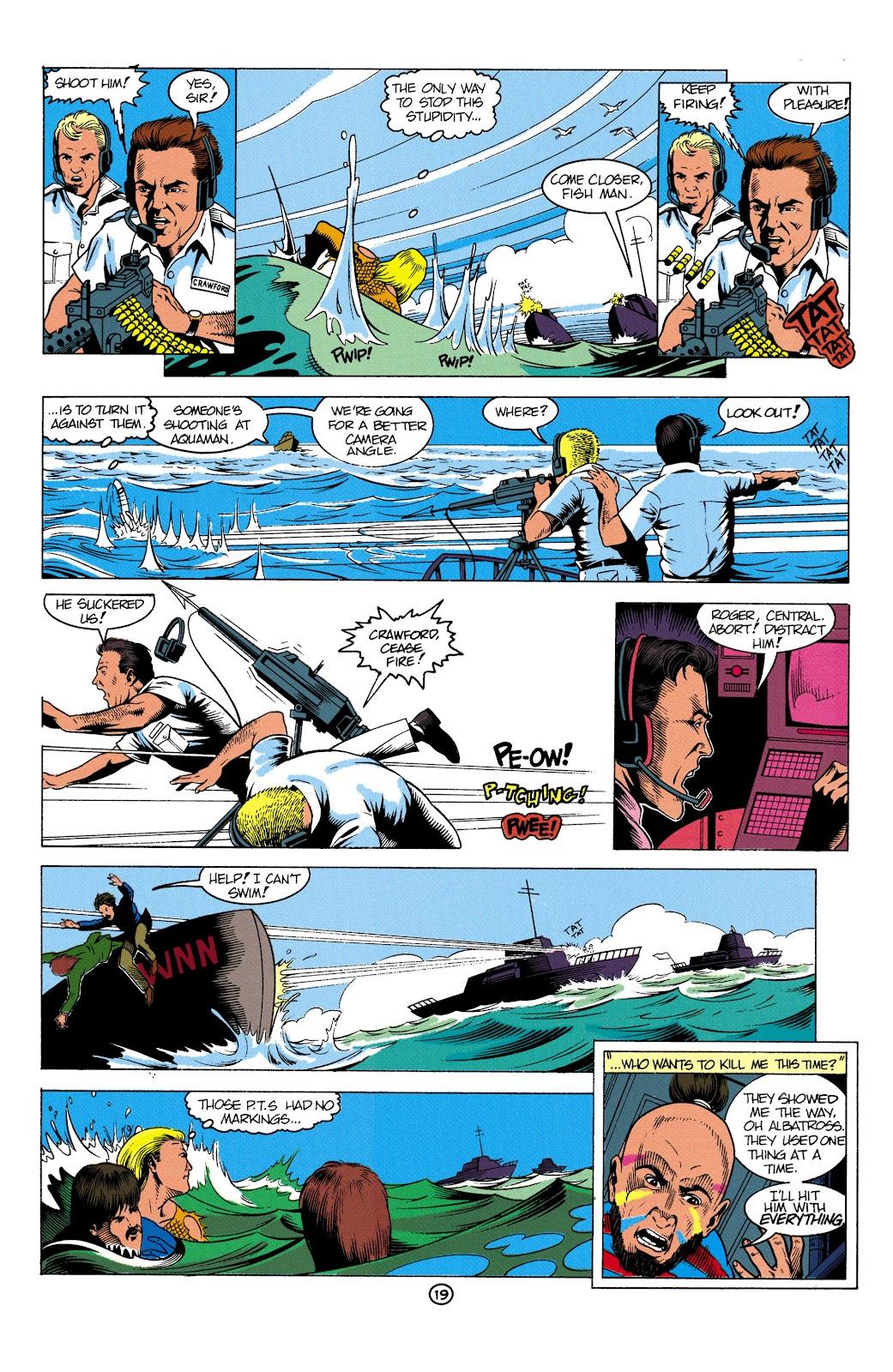 Aquaman (1991) Issue #2 #2 - English 20