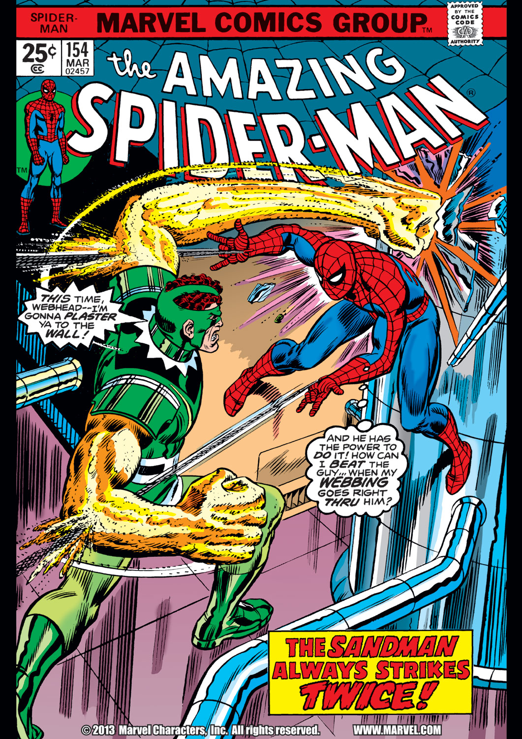 The Amazing Spider-Man (1963) 154 Page 1