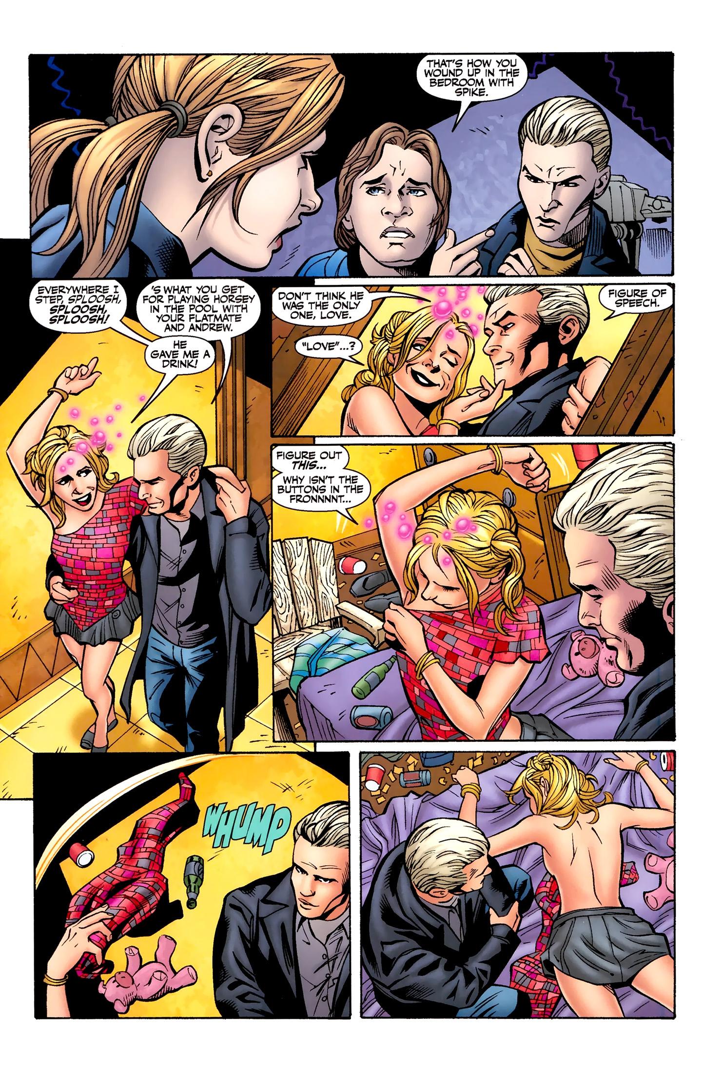Read online Buffy the Vampire Slayer Season Nine comic -  Issue #8 - 10