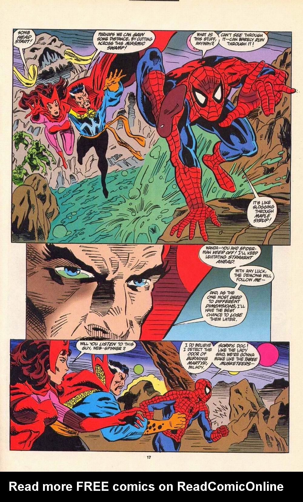 Read online Secret Defenders comic -  Issue #7 - 12