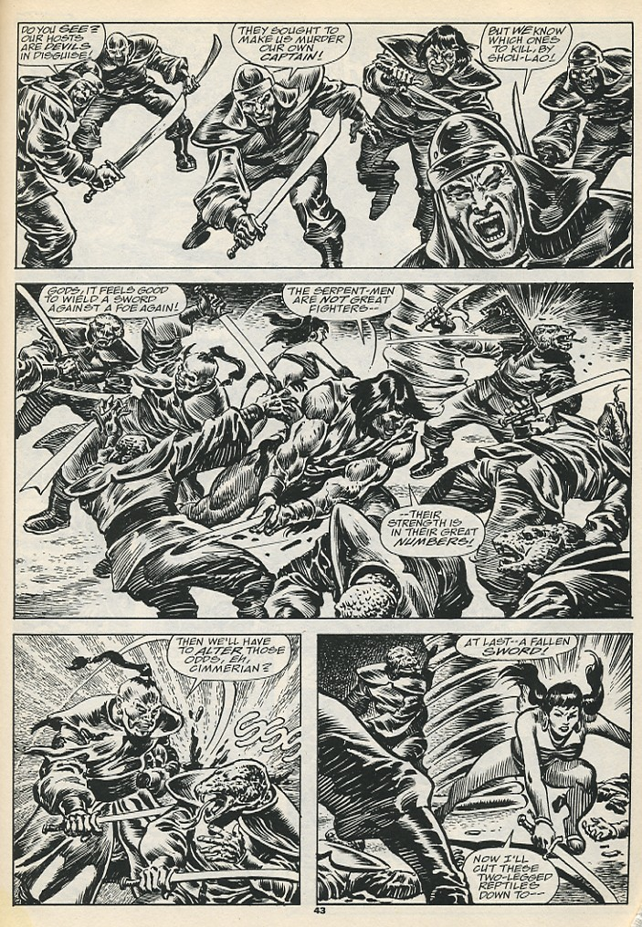 The Savage Sword Of Conan Issue #192 #193 - English 45