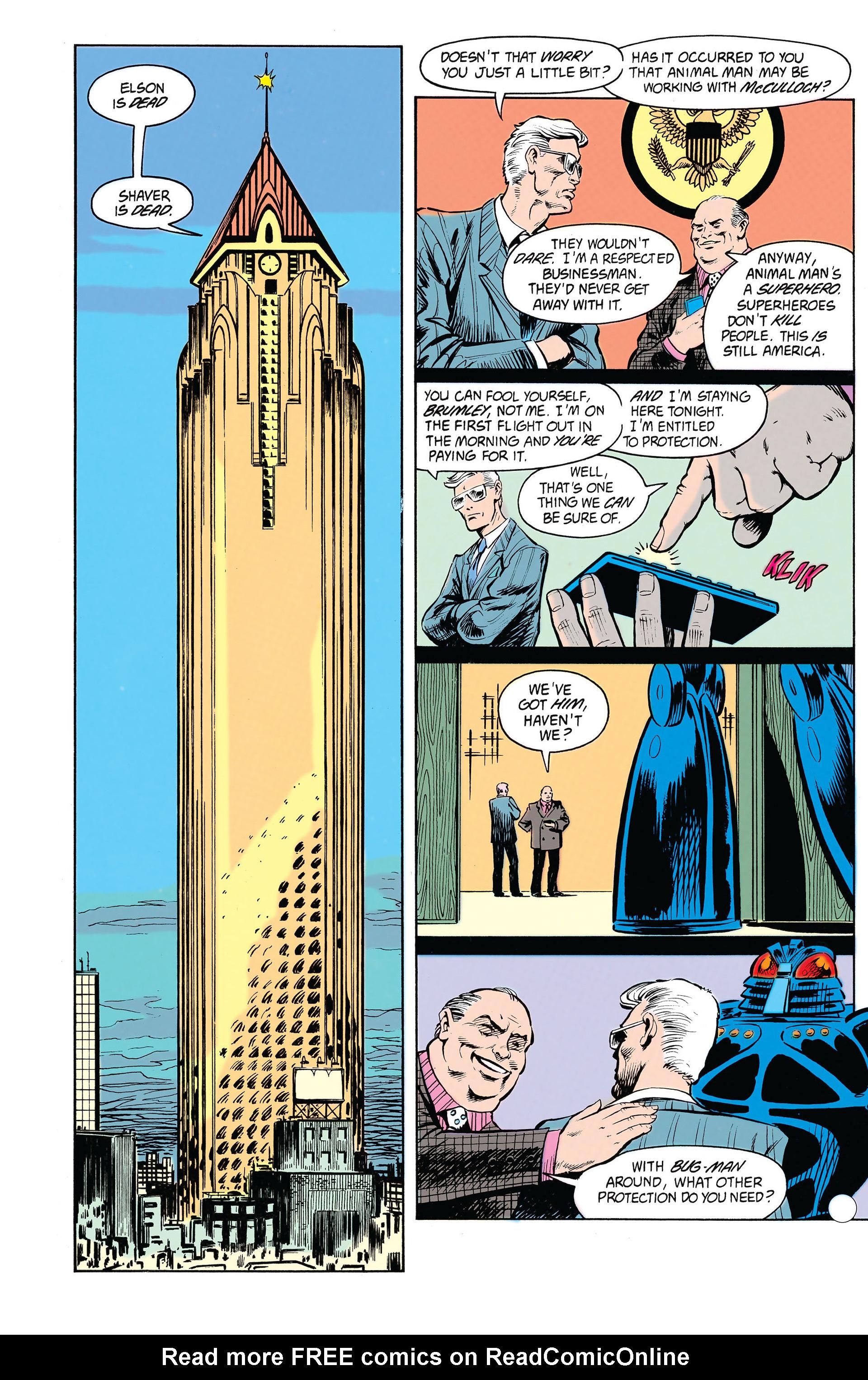 Animal Man (1988) 21 Page 11