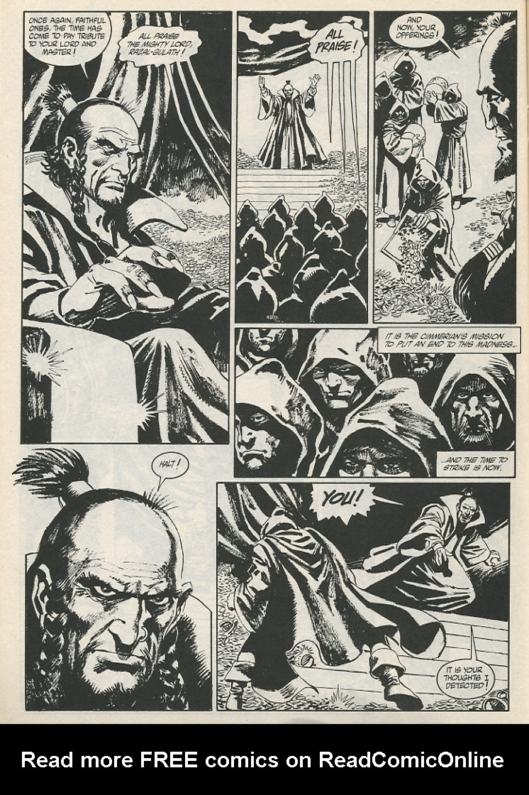The Savage Sword Of Conan Issue #189 #190 - English 32