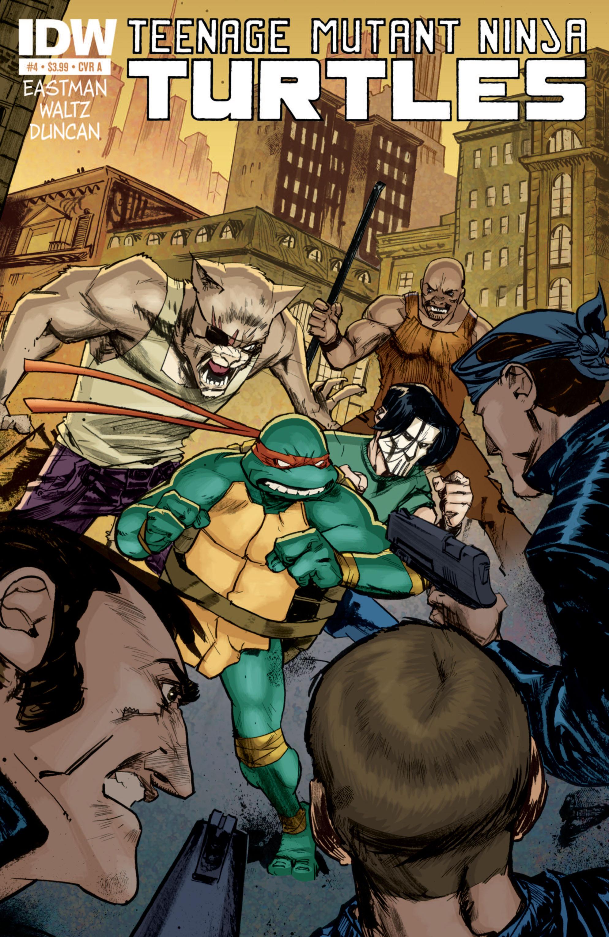 Teenage Mutant Ninja Turtles (2011) 4 Page 1