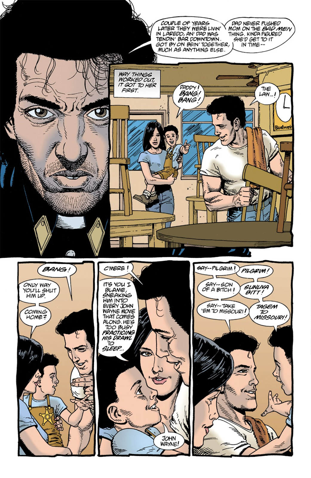 Preacher Issue #9 #18 - English 9
