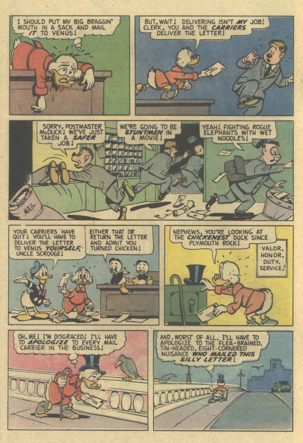 Uncle Scrooge (1953) Issue #154 #154 - English 6