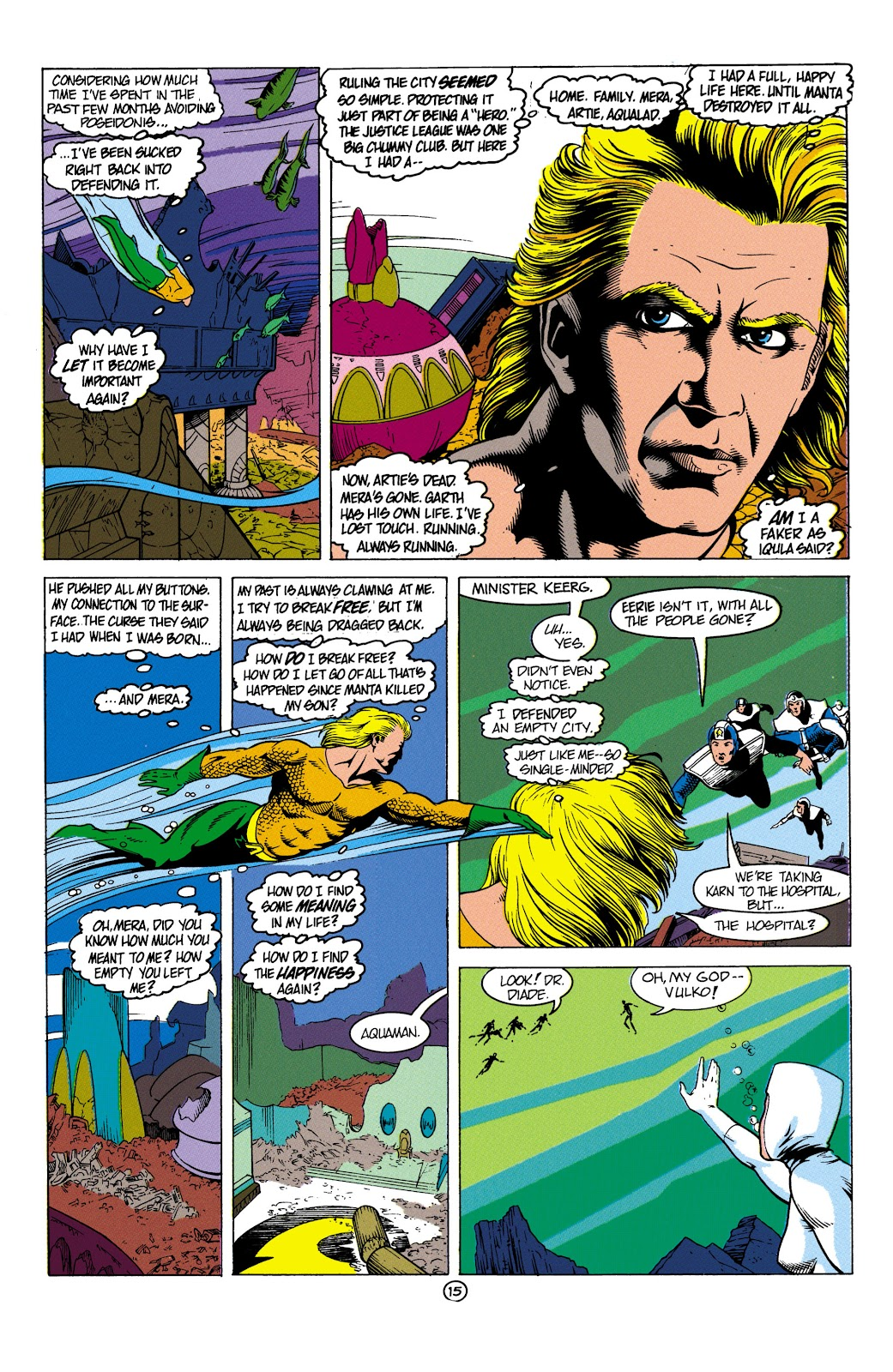 Aquaman (1991) Issue #4 #4 - English 16