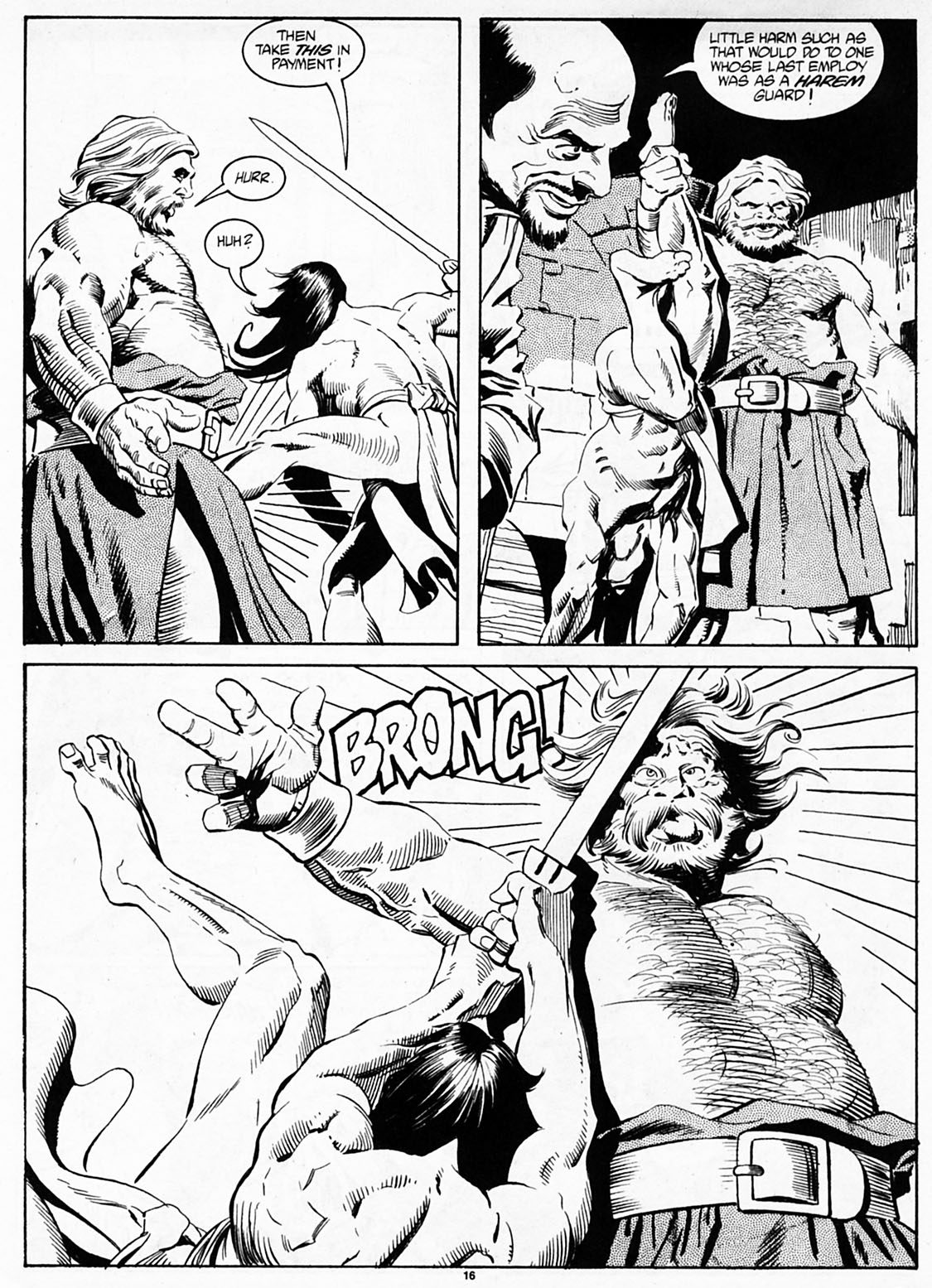 The Savage Sword Of Conan Issue #186 #187 - English 18