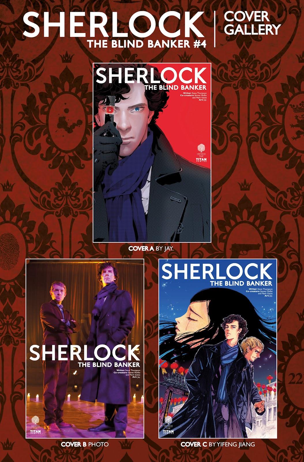 Sherlock: The Blind Banker Issue #4 #4 - English 38