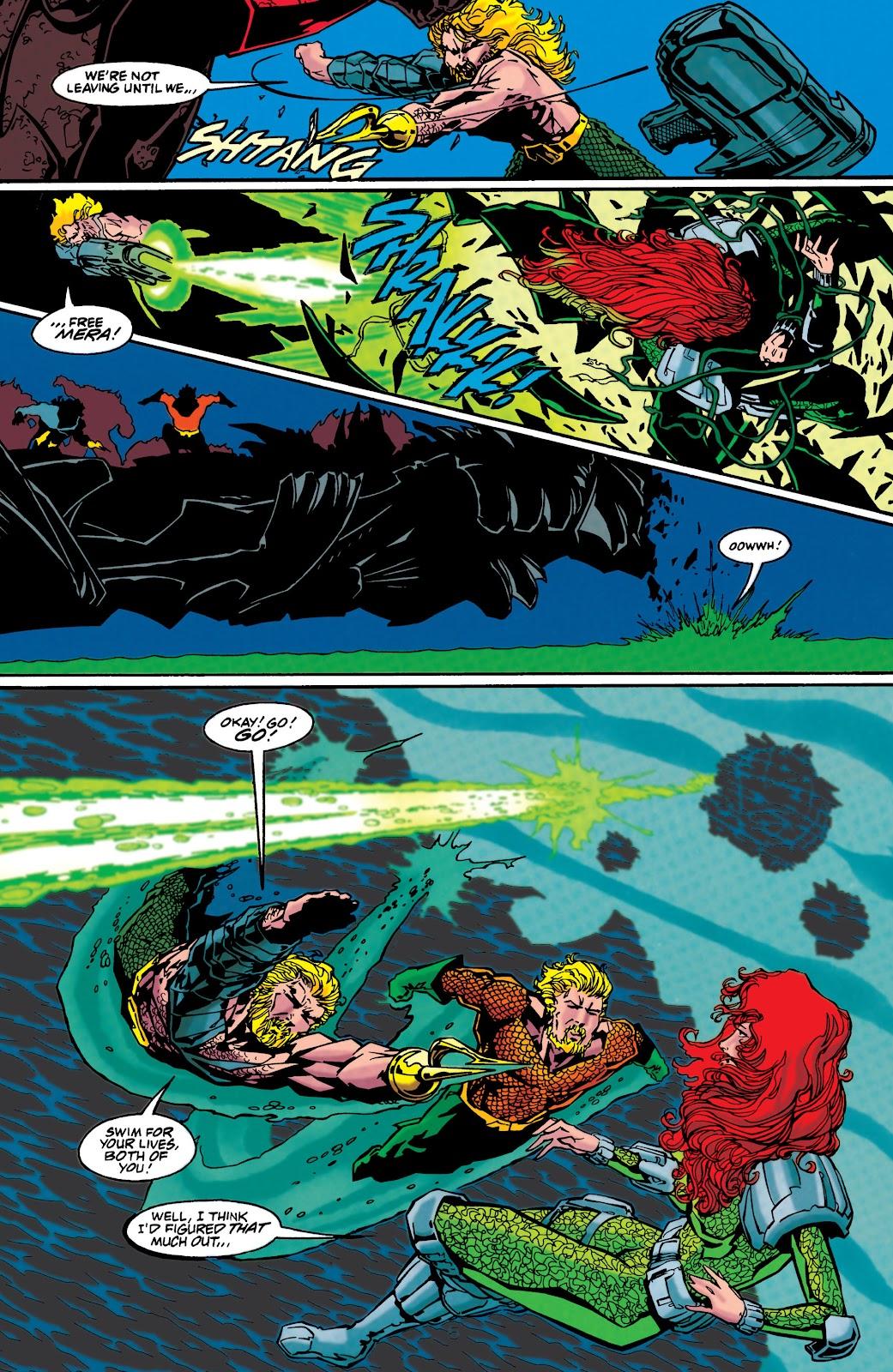 Aquaman (1994) Issue #48 #54 - English 5