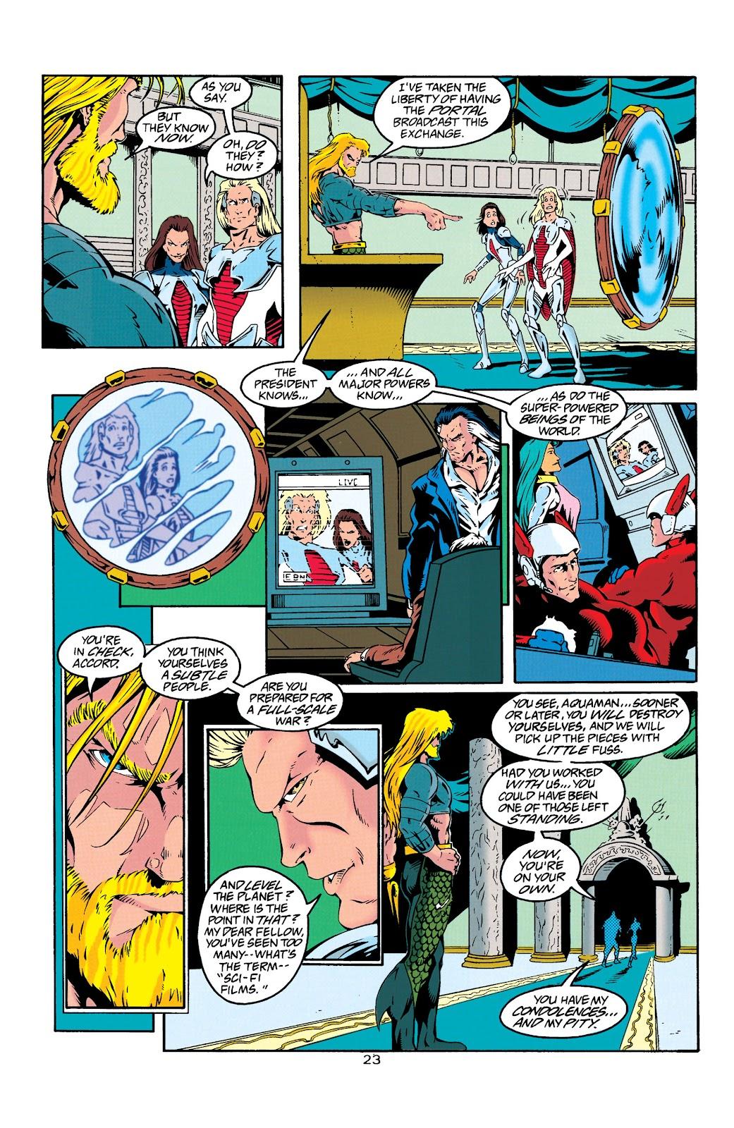 Aquaman (1994) Issue #25 #31 - English 24