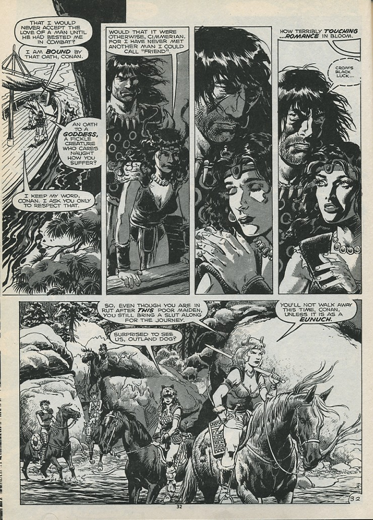 The Savage Sword Of Conan Issue #179 #180 - English 34