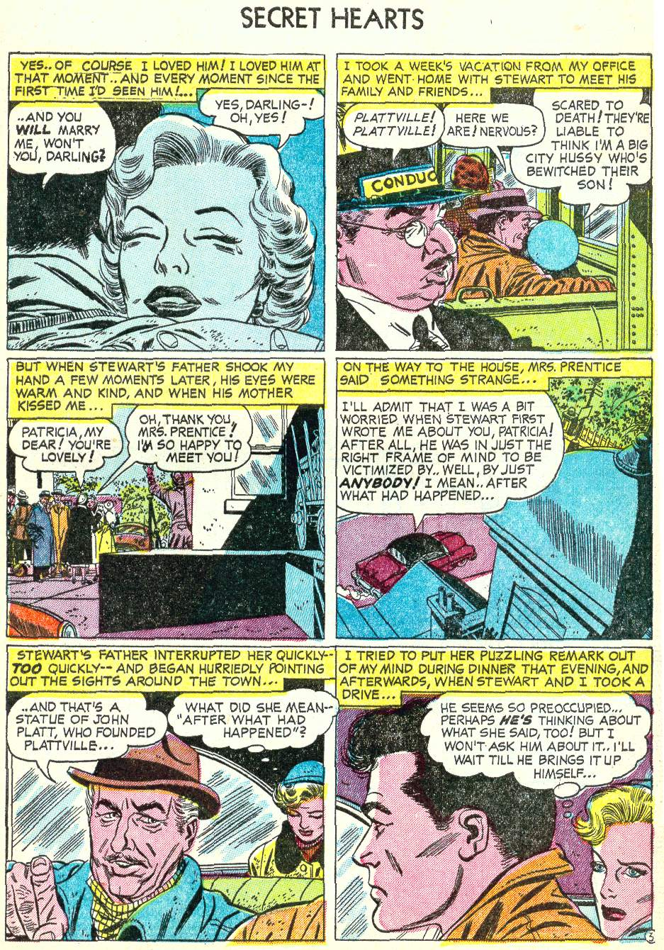 Read online Secret Hearts comic -  Issue #22 - 5