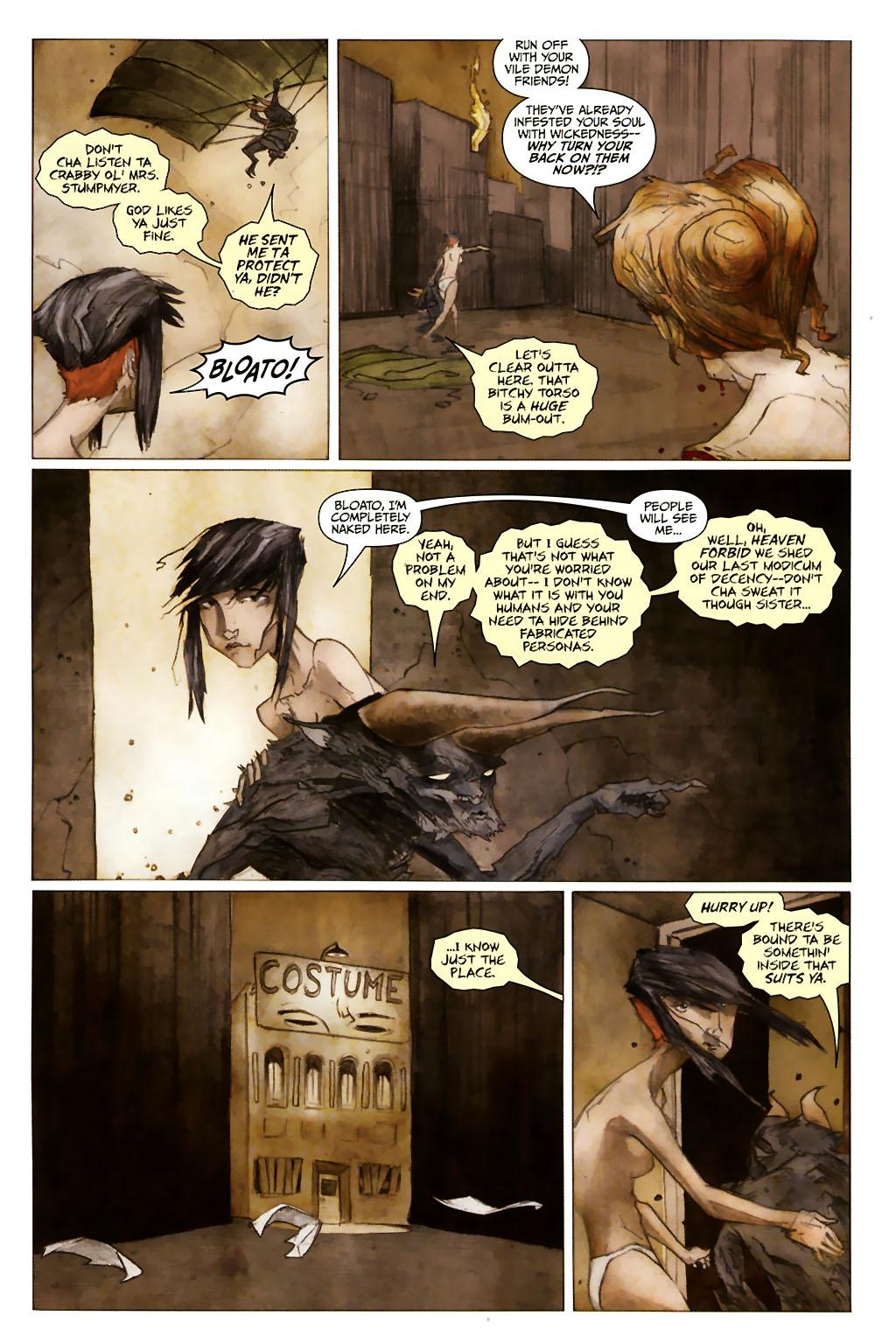 Girl 13 Page 6 #6 - English 5