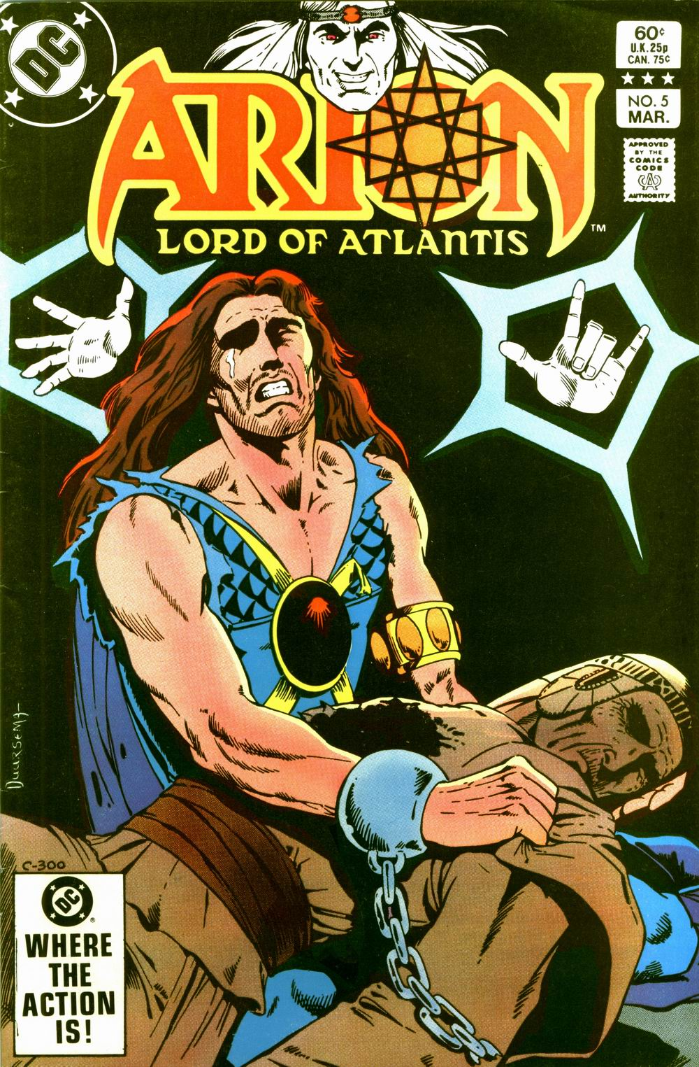 Arion, Lord of Atlantis 5 Page 1