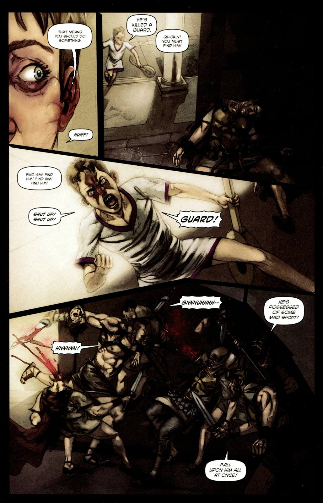 Caligula: Heart of Rome Issue #4 #4 - English 11